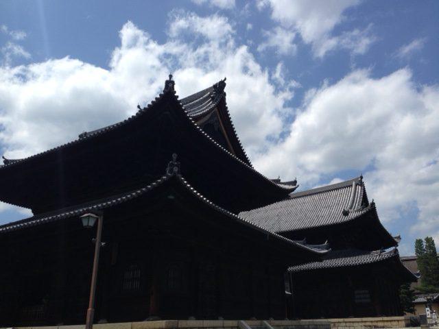 20160718京都 夏空