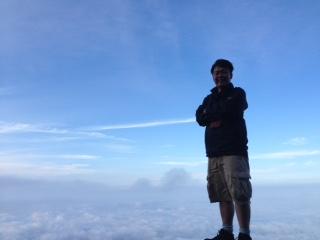 7合目 雲海の上