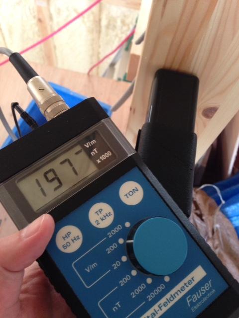 建物から出る電磁波がPCやゲームや携帯より一番身近なんです