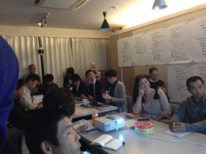 職人起業塾@すみれ建築工房さんセミナールーム