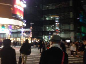 大阪梅田 花の金曜日 新年会の方も多かった