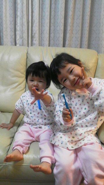 5年前の娘達